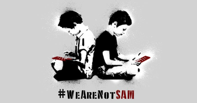 We are not SAM.